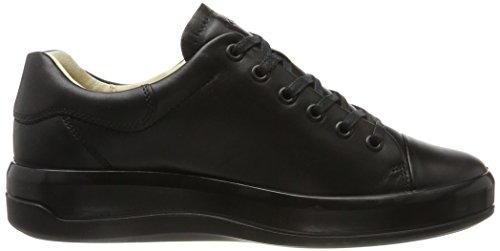 Ecco EU Soft 9 39 Noir Sneakers Black Femme Basses 1001 THTnpBx6
