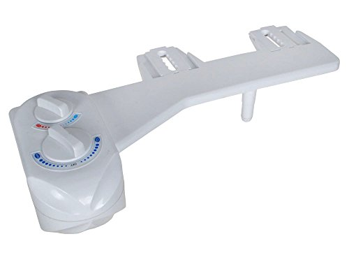 TMS Nozzle Hot Cold Water Spray Non-Electric Mechanical Bidet Toilet Seat Attachment