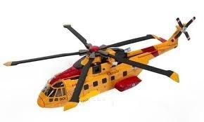 Sky Pilot Agusta Westland CH-149 Cormorant AW101 1:72 Diecast Model (New Ray Pilot)