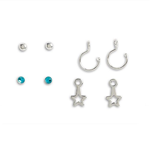 Doll Earrings - American Girl Truly Me Stars & Hoops Earrings Set for 18
