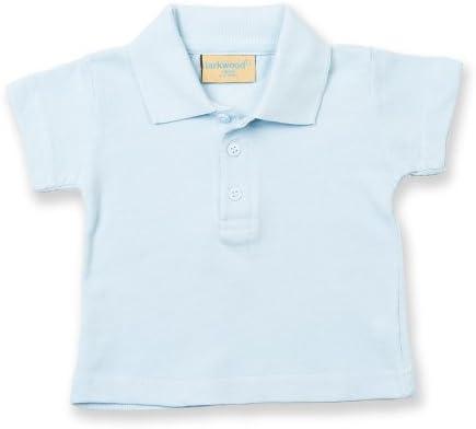 Larkwood- Polo de manga corta para bebé unisex (0-6 meses/Azul ...