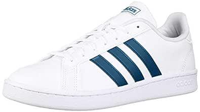 adidas Women's Grand Court, Legend Marine/White, 7.5 M US