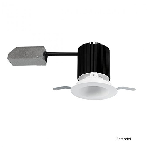 WAC Lighting HR3S-R30F-WT Summit LED Energy Star Non-IC Airtight Remodel Recessed Downlight with Round Trim, 3.5''