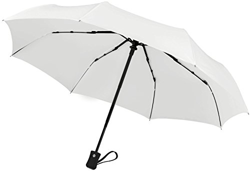 crown-coast-white-travel-umbrella-60-mph-windproof-lightweight-for-men-women-and-kids-compact-travel