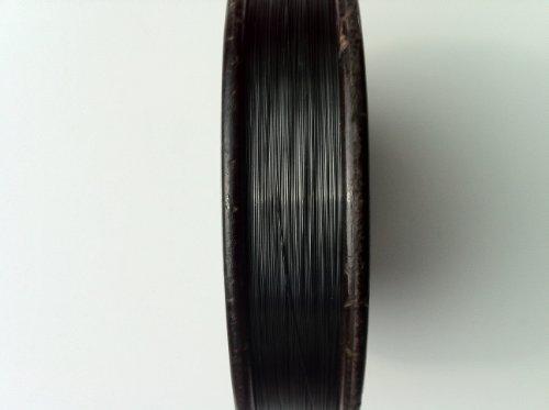 Tungsten Wire 99.95%, .0098″ (.25mm) x 16′ (4.88m) by Solution Materials, LLC