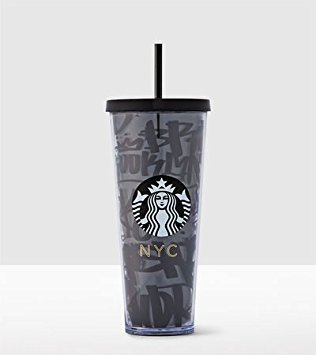Starbucks New York Local Collection Venti 24oz Cold Cup TUMBLER by Starbucks