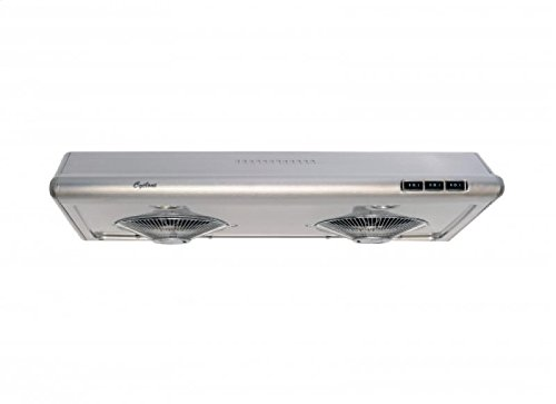 Cyclone CY1011R-SS 680CFM High-Powered Under-Mount Range Hood, Classic Collection, Stainless Steel, 30""