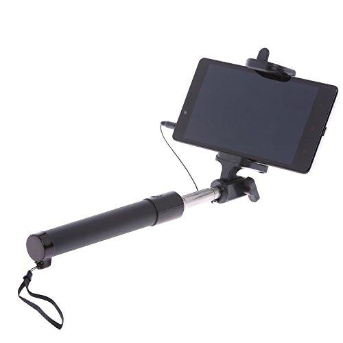 selfie stick telescopic quicksnap foldable pocket size wired mini selfie stick remote shutter. Black Bedroom Furniture Sets. Home Design Ideas