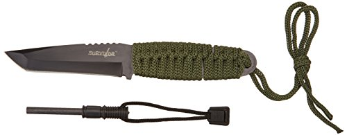 Survivor-HK-106-Series-Fixed-Blade-Knife-with-Fire-Starter-8-Inch-Overall