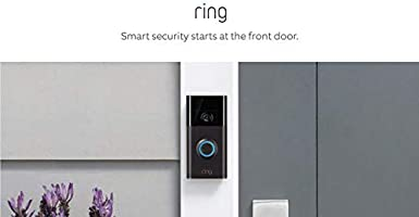 Ring Video Doorbell con Video HD, Alertas activadas con sensor de movimiento, Fácil de Instalarm – Negro-bronce