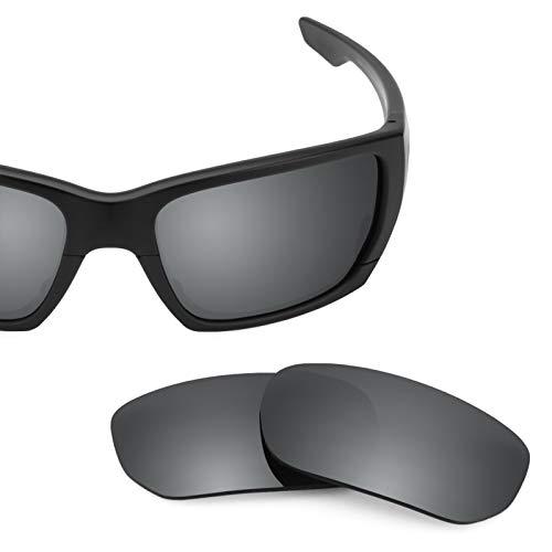 Elite Repuesto Negro Para De Opciones Oakley Fit — Polarizados Asian Style Mirrorshield Switch Chrome Múltiples Lentes qB1Cww