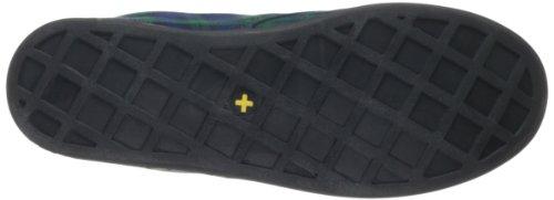 Dr. Martens Airwair Usa Llc - Hackney Lace-up Mode Dames Sneaker Zwart Horloge Tartan Geruite