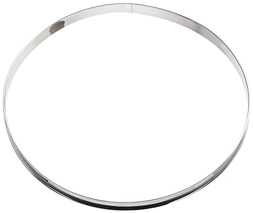 Paderno World Cuisine 12 1/2 inches Stainless-steel Pastry Ring ()