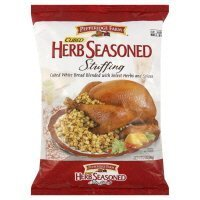 Pepperidge Farm, Cubed, Herb Seasoned Stuffing, 12oz Bag (Pack of 2)