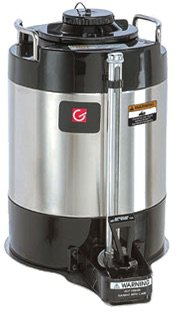 Grindmaster-Cecilware AVS-1.5A Vacuum Insulated Shuttle, 1.5-Gallon, Black with Stainless (Grindmaster Vacuum)