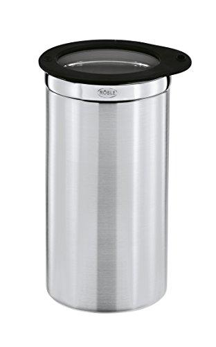 Rösle Coffee Jar with Silicone Glass Lid, Storage Box, Accessories, 20x10cm, - Coffee Rosle