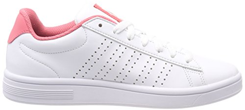 Blanc Basses Femme swiss Sneakers Court Casper sunkist white 160 K Coral pqw1AP6xx