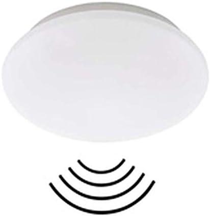 Briloner Leuchten 3362-016 Plafoniera a LED da soffitto con rilevatore di Movimento e sensore di luminosità Regolabile, 15 W, 1500 lm, 4000 K, Ø 29 cm – Bianco