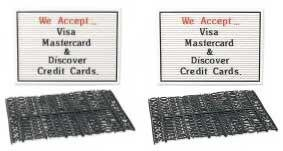 Counter Top Message Boards W/letters Pack of (2)