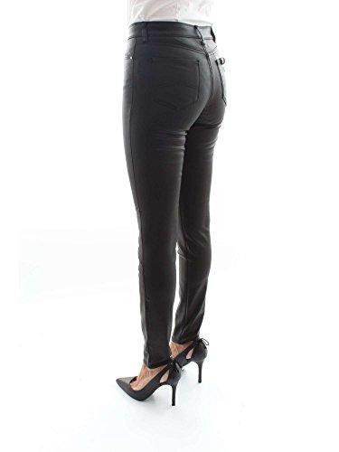 Armani Pantalones 6Y5KJ20 Mujer Vaqueros 5DZDZ Jeans Negro rwr8qfF