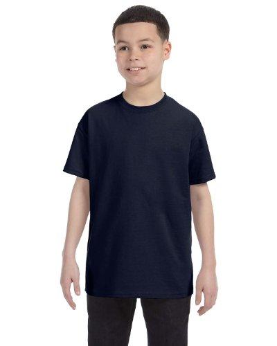 Anvil Youth Heavyweight T-Shirt - NAVY - XXS