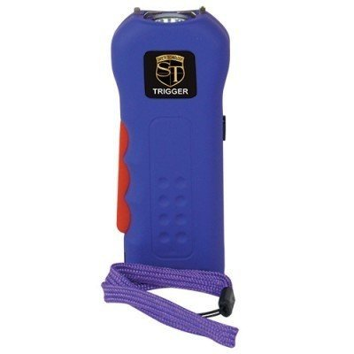 Cheap Trigger 18,000,000 Purple Stun Gun Flashlight with Disable Pin