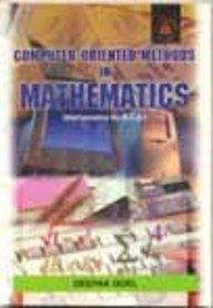Download Computer Oriented Methods in Mathematics (B. C. A. ) ebook