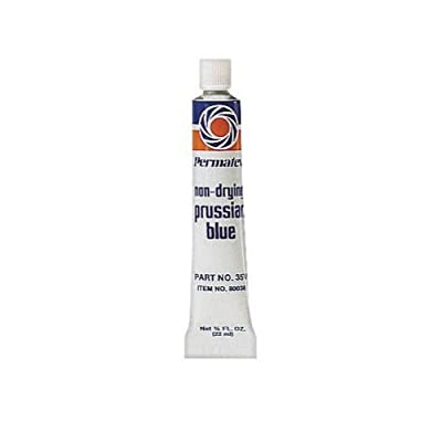 Permatex 80038-36PK Prussian Blue Fitting Compound, 0.75 oz. (Pack of 36): Automotive