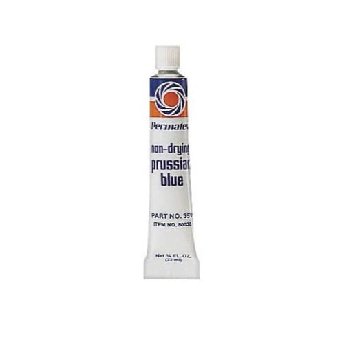 Image of Chrome & Metal Polishes Permatex 80038-36PK Prussian Blue Fitting Compound, 0.75 oz. (Pack of 36)