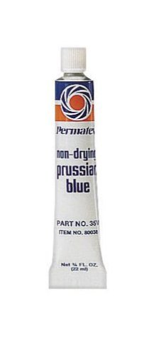 Permatex 80038-36PK Prussian Blue Fitting Compound, 0.75 oz. (Pack of 36) by Permatex