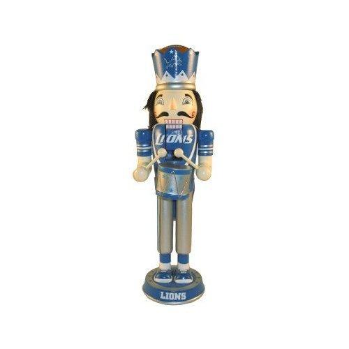 Amazon.com : NFL Detroit Lions Stafford #9 14 Drummer Nutcracker ...