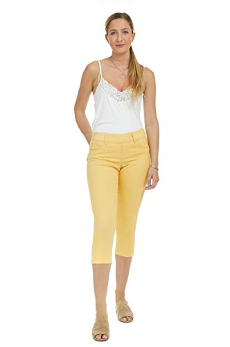 Suko Jeans Women's Denim Capris - Pull On – Stretch 18