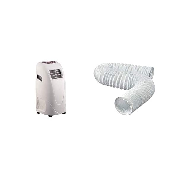 Global Air 10,000 BTU Portable Air Conditioner Cooling /Fan with Remote Control in...
