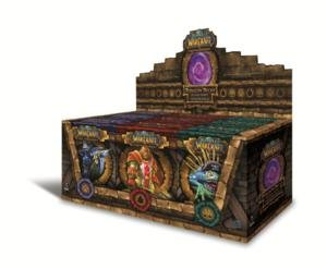 World of Warcraft Trading Card Game 2011 Dungeon Decks Display by Cryptozoic Entertainment