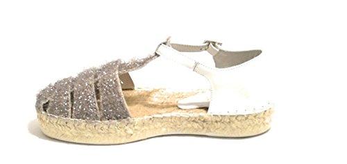 LAGOA Damen Sandale mit Plateau-Sohle
