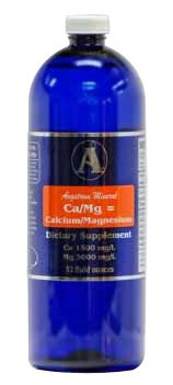 Liquid Calcium Magnesium Supplement by Angstrom Minerals - 32oz