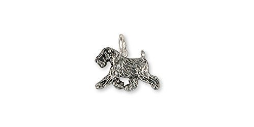 Soft Coated Wheaten Jewelry Sterling Silver Soft Coated Wheaten Charm Handmade Dog Jewelry - Jewelry Soft Wheaten Coated