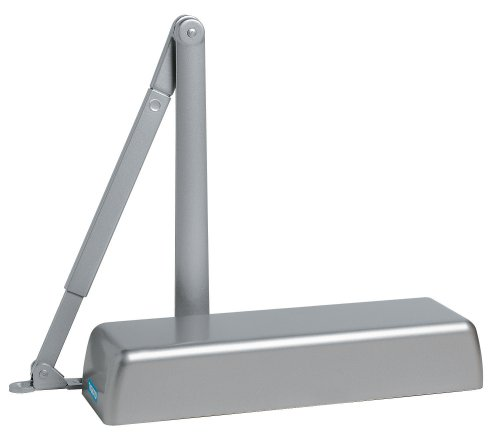 Global Door Controls Heavy Duty Commercial Door Closer in Aluminum - Sizes 1-6 by Global