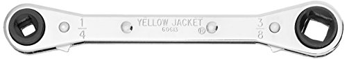 Yellow Jacket 60613 Service Wratchet Wrench (Wrench Refrigeration Ratchet)