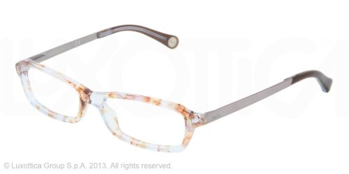 D&g Vintage Dd1217 Eyeglasses 1877 Azure Flowers Demo Lens 51 15 130 by Dolce & Gabbana