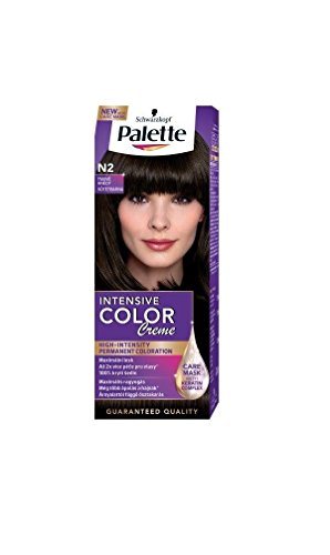Palette Intensive Color Creme N2 Dark Brown Permanent Hair Color Hair Color Palette