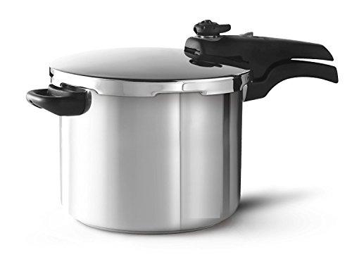 Schnellkochtopf 6 Liter Edelstahl Topf Kochtopf extra Sicherheitssystem