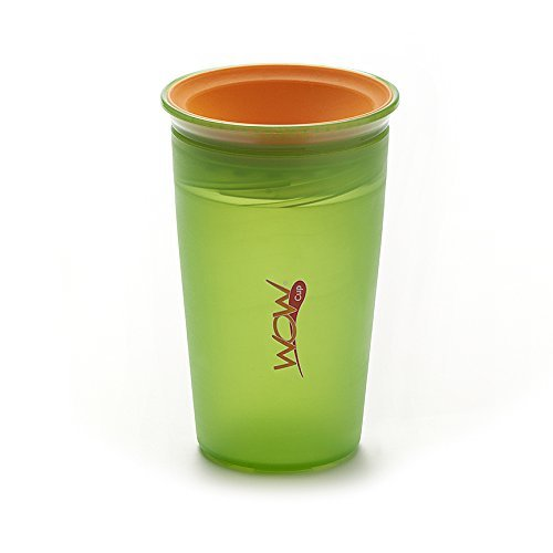 9oz Wow Cup/® 360⁰ Spill-Free Cup with Freshness Lids Included Purple /& Pink Twin Pack