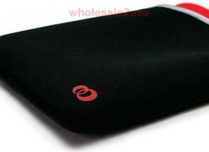 - Red + Black Pouch Thin-Form-Fitting Compact *TIGHT-FIT* for Notebook with Regular Cell Battery Version ONLY (does not fit computer with extended battery) Reversible Laptop Sleeve Case for Fujitsu P1610 P1620 P1630 Connvertible TabletPC {+ 1pc name tag} -- Most Practical Sleeve on Amazon!