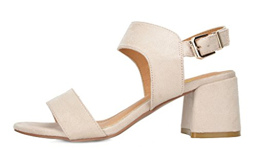 Dream Women's nude 01 Duchess Pairs Heel Sandals F15cprFwq