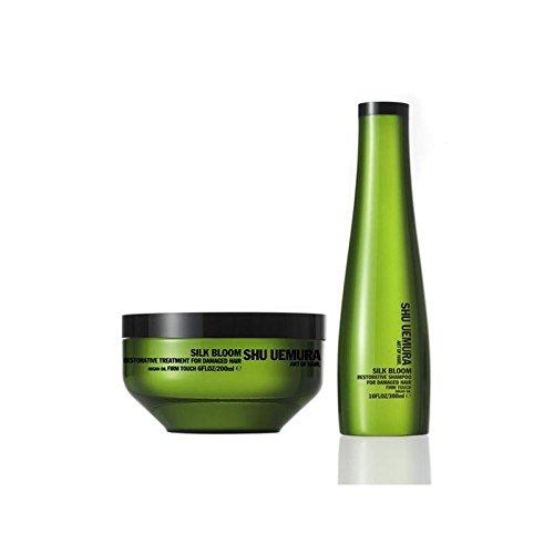 Shu Uemura Art Of Hair Silk Bloom Shampoo (300ml) And Treatment (200ml) (Pack of 2) by Shu Uemura