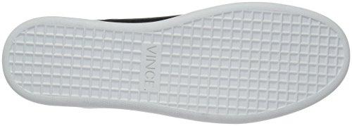 Vince Donna Verrell In Pelle Nera Moda Sneaker Nera