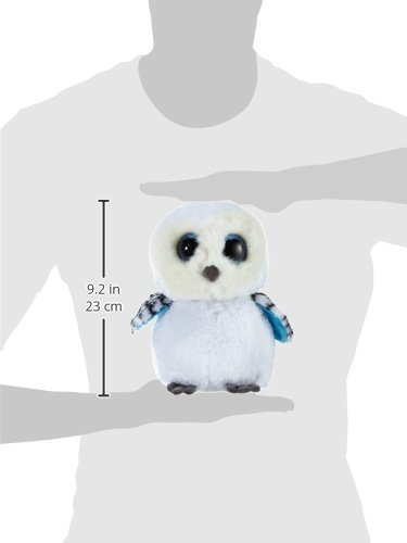 82f9e5bb0e5 6 X TY Spells Buddy Beanie Boos 7136978 Soft Snow Owl Toy  Glubschis  Large