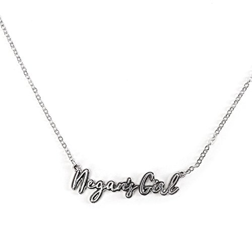 Bioworld The Walking Dead Negan's Girl Pendant Necklace