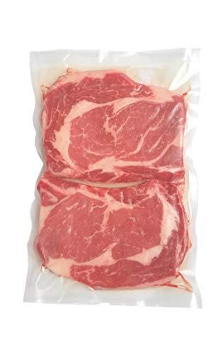 "100 8""x12"" Textured Vacuum Sealer Bags – Quart Size FDA Approved, BPA-Free Commercial Grade Food Sealer Bags for Sous Vide, FoodSaver, Food Storage"